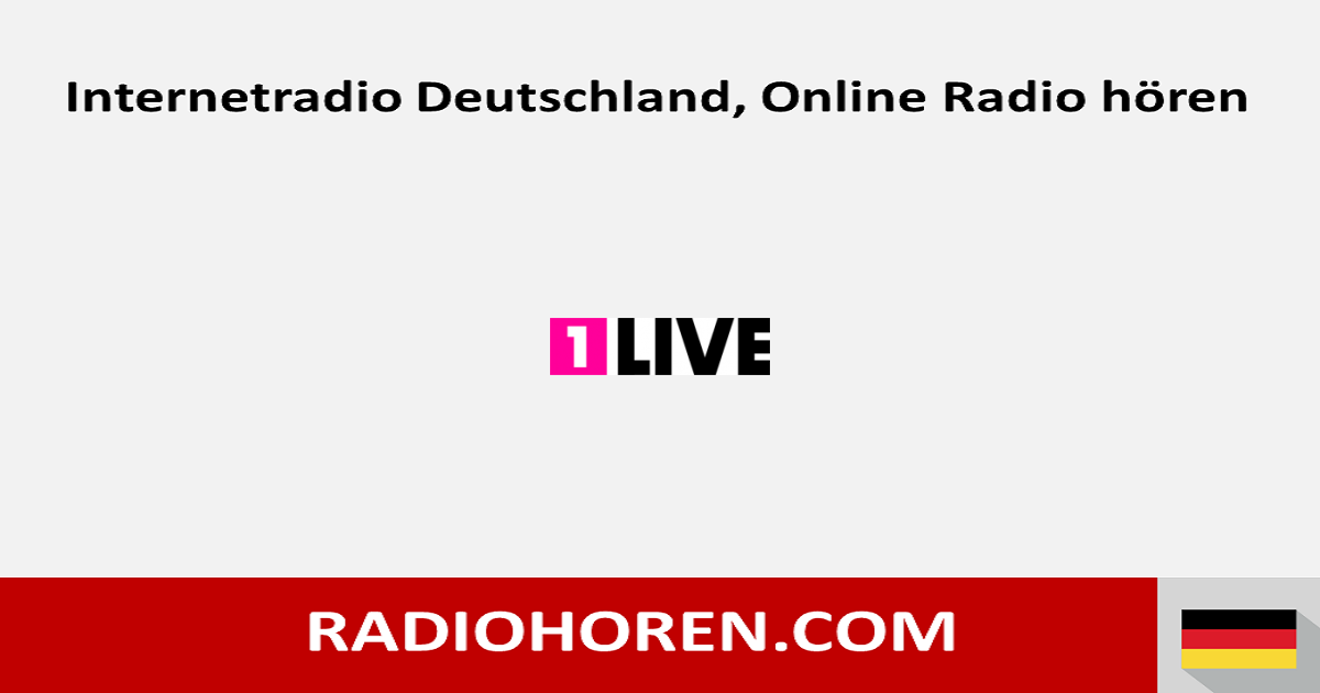 Webradio 1 Live